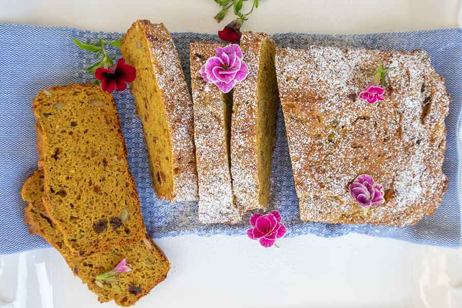 gluten-free zucchini orange bread