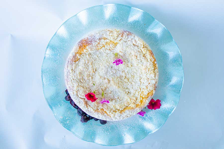 vanilla cheesecake, gluten free