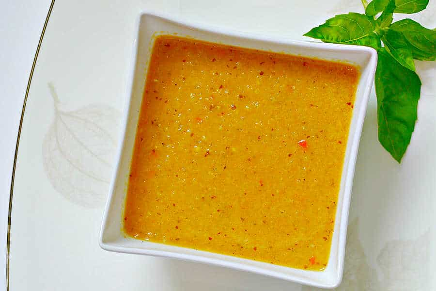 curried zucchini coconut soup