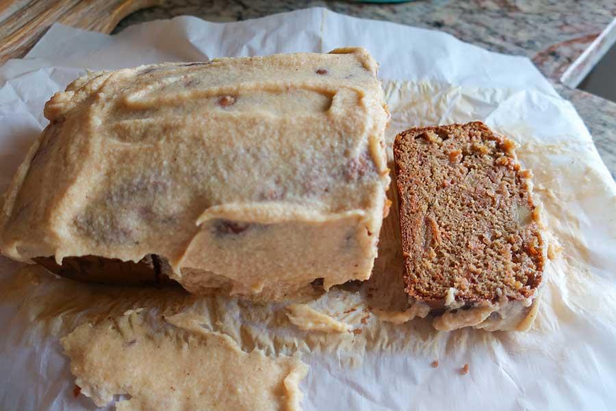 apple carrot loaf