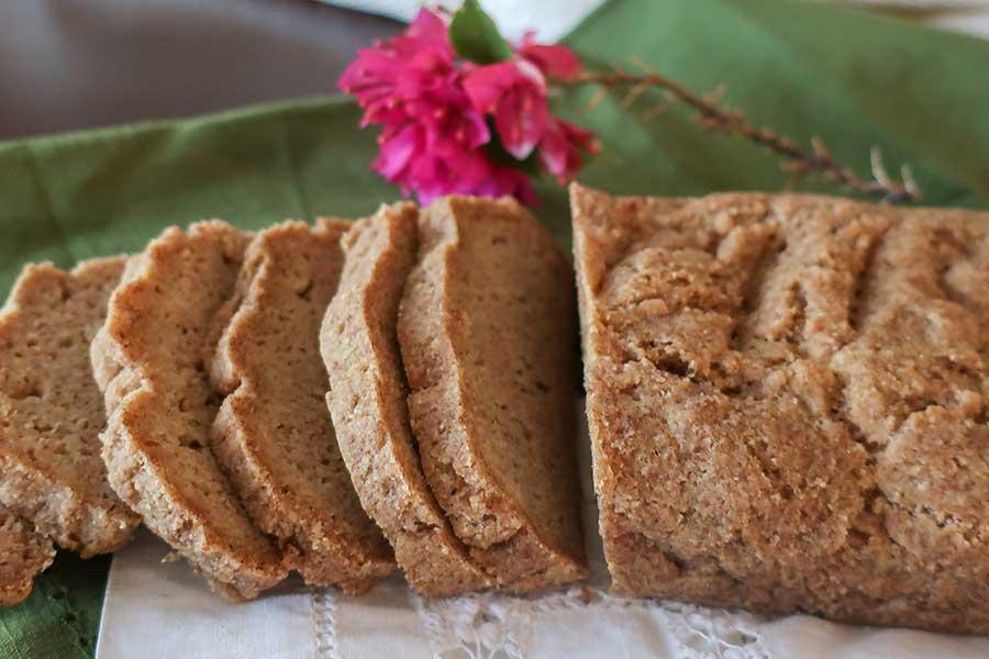 high fiber bread, gluten free