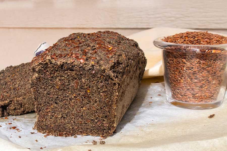 buckwheat flax bread