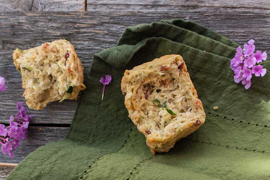 zucchini muffin, gluten free