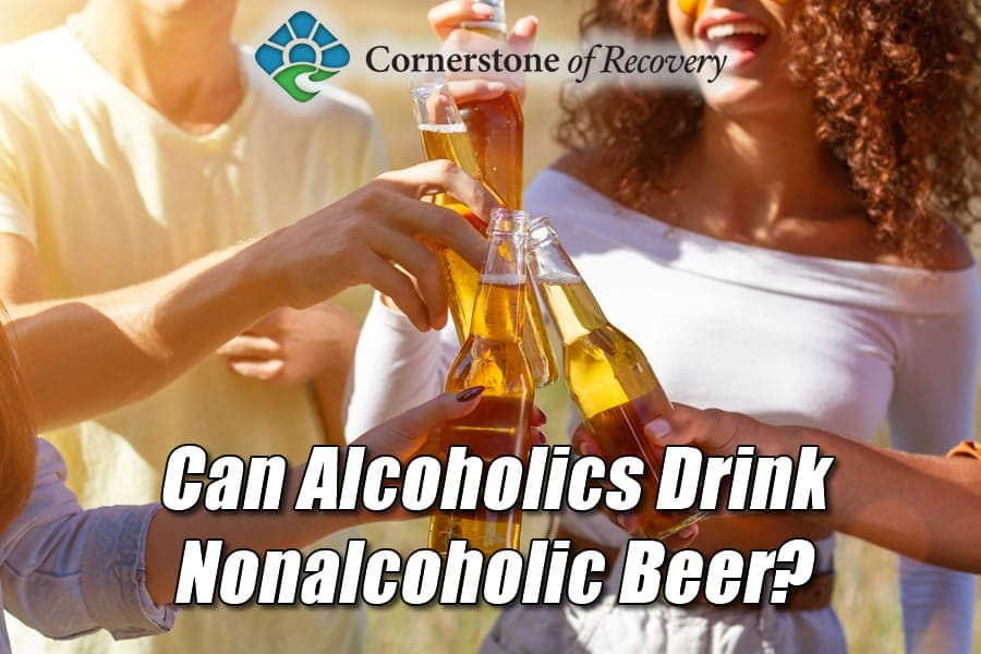 can alcoholics drink nonalcoholic beer