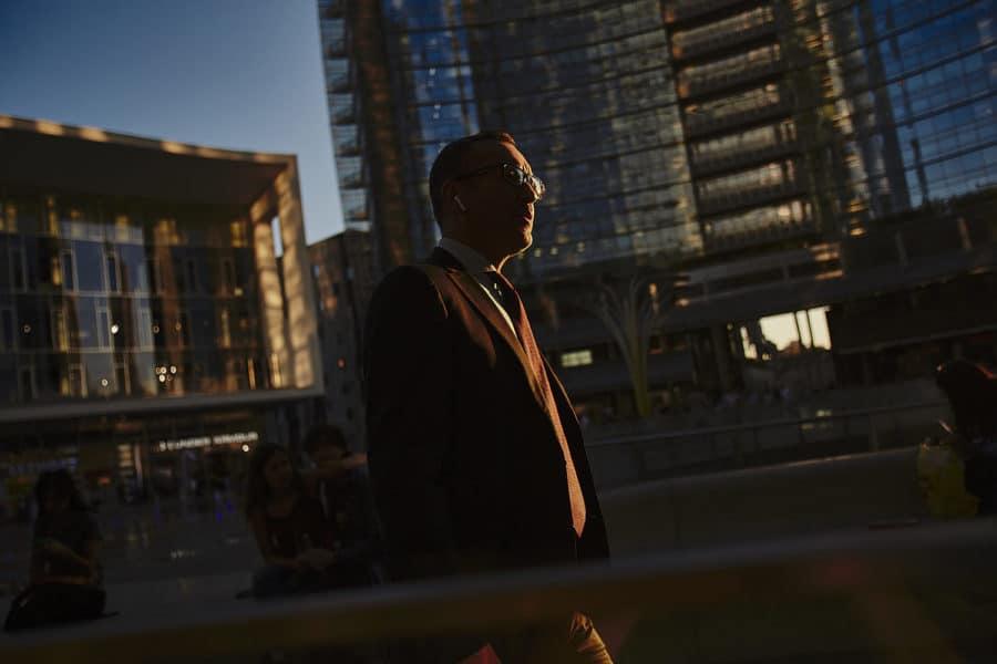 Fotografo reportage ambiente urbano milano gae aulenti porta nuova