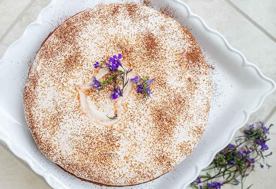 gluten free tiramisu cheesecake | onlyglutenfreerecipes.com
