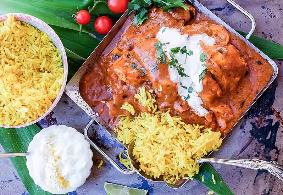 indian, butter, chicken