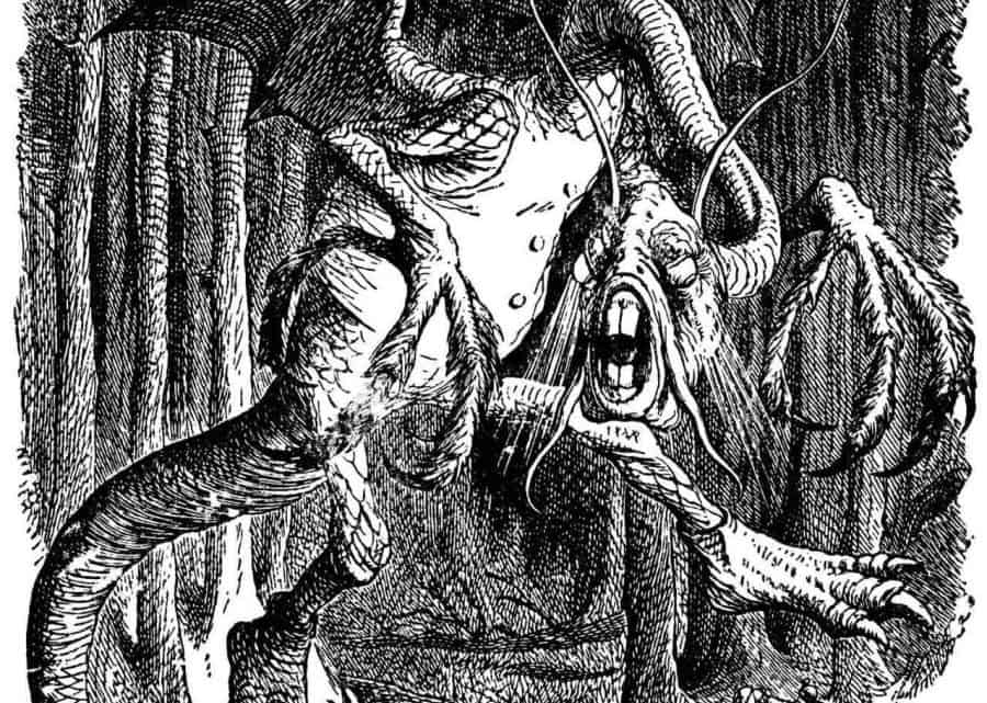 "Uma leitura animada de ""The Jabberwocky"", o poema nonsense de Lewis Carroll Artes & contextos an animated reading of the jabberwocky lewis carrolls nonsense poem that somehow manages to make sense"