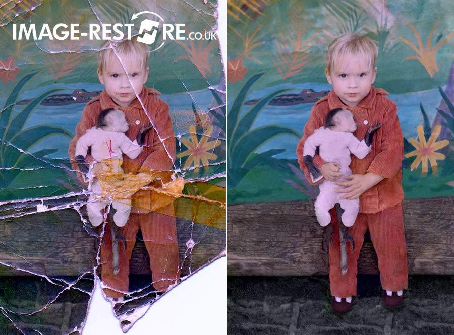 Getting a photo restored makes you feel good and preserves the image for the future
