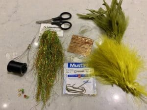 bull trout fly tying