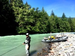 Guided fly fishing in Vancouver BC