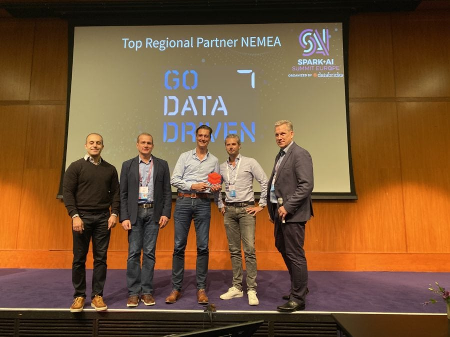 GoDatadriven receives Databricks Top Regional Partner Award