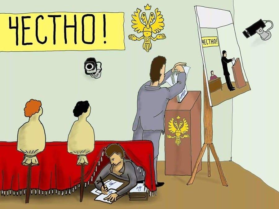 выборы - как накручивают коиб