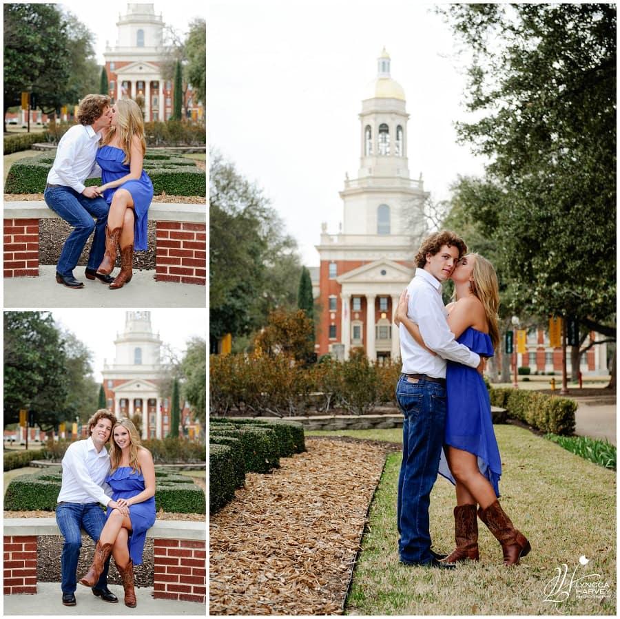 Waco Engagement Photographer | Baylor University | Lyncca Harvey Photography