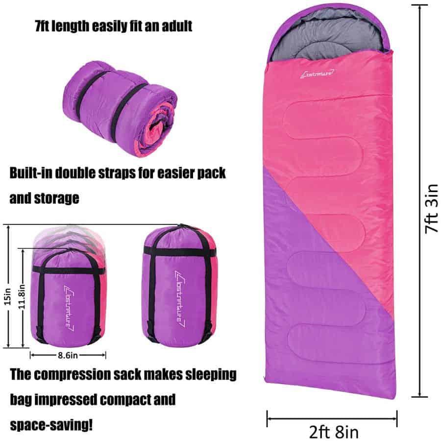 Clostnature sleeping bag - photo 4