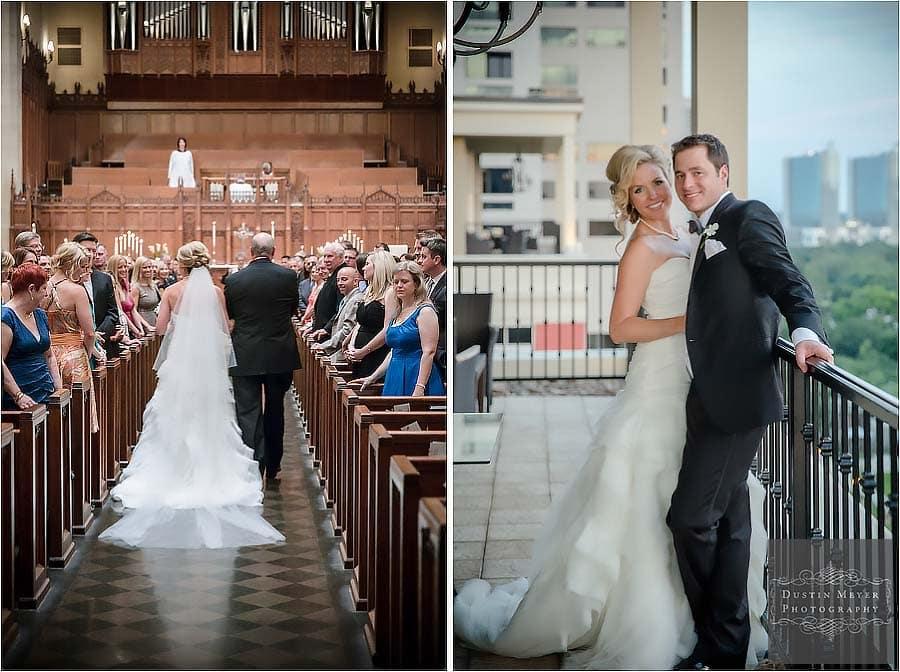 st. paul's united methodist church houston wedding photos