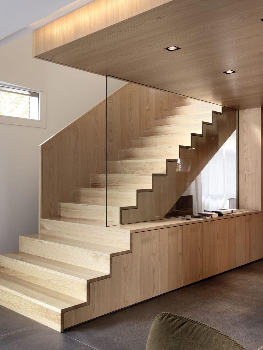 Detail Treppe Haus S Dietilkon - Foto von Bruno Helbling, Zürich