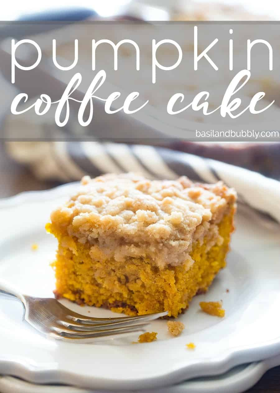Pin for Pumpkin Coffee Cake