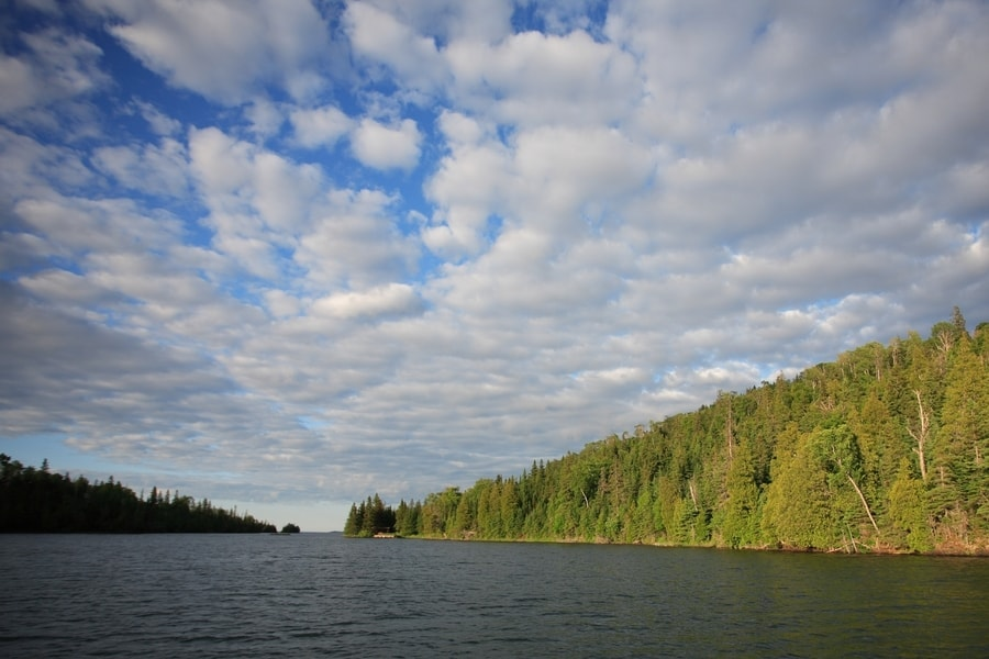 Isle Royale National Park in the Summer