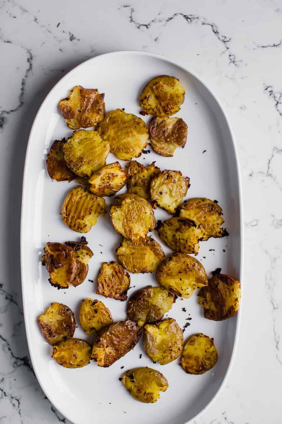 smashed potatoes diala's kitchen