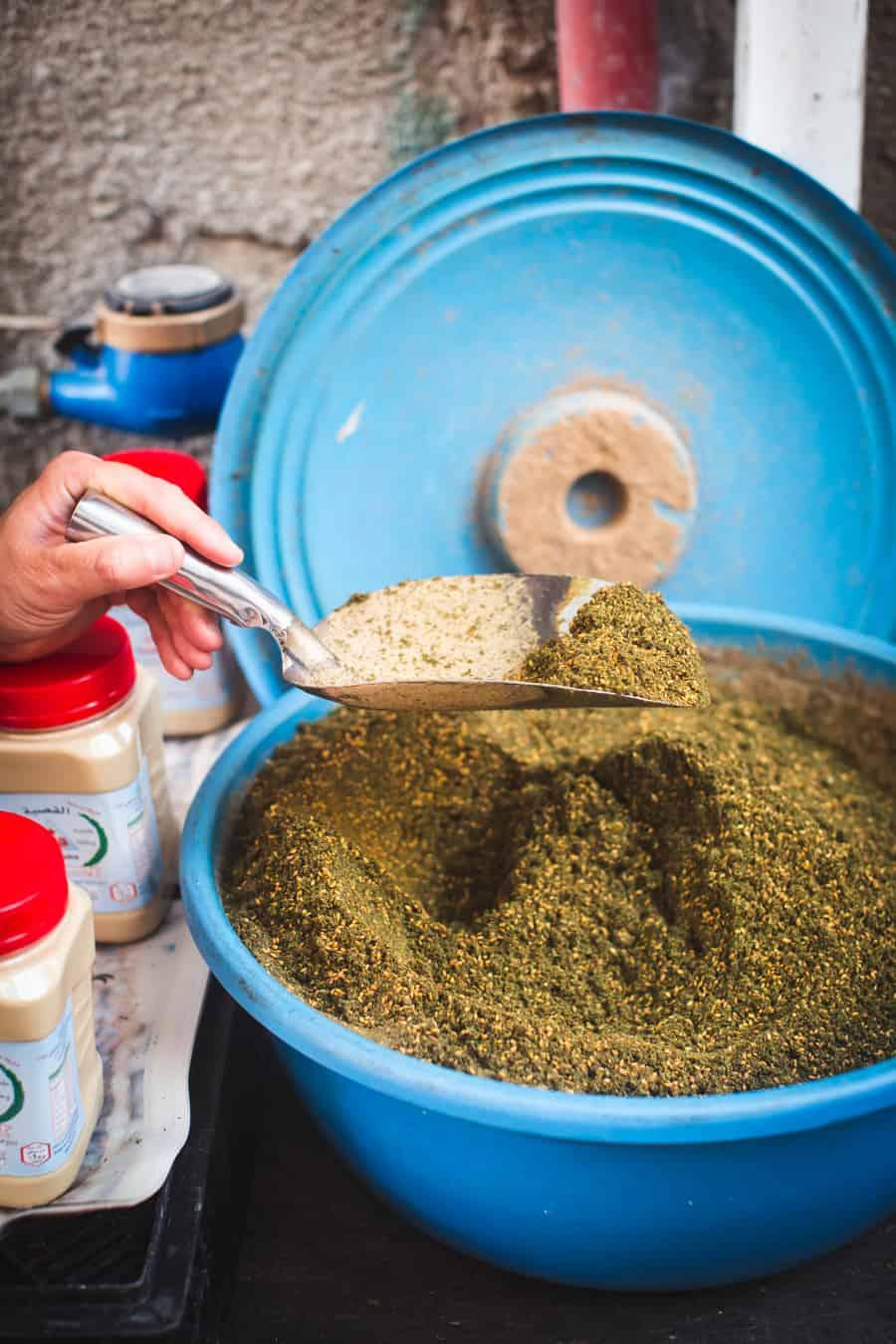 Za'atar at Vadi Nisnas market