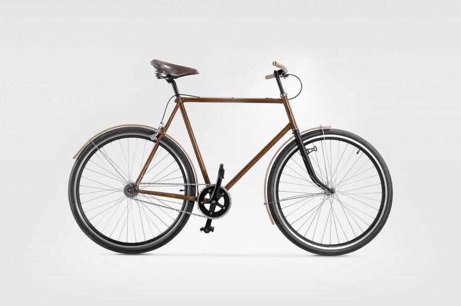 Goldie&Oldie Rower OLDIE 1000 zdrewnianymi akcesoriami
