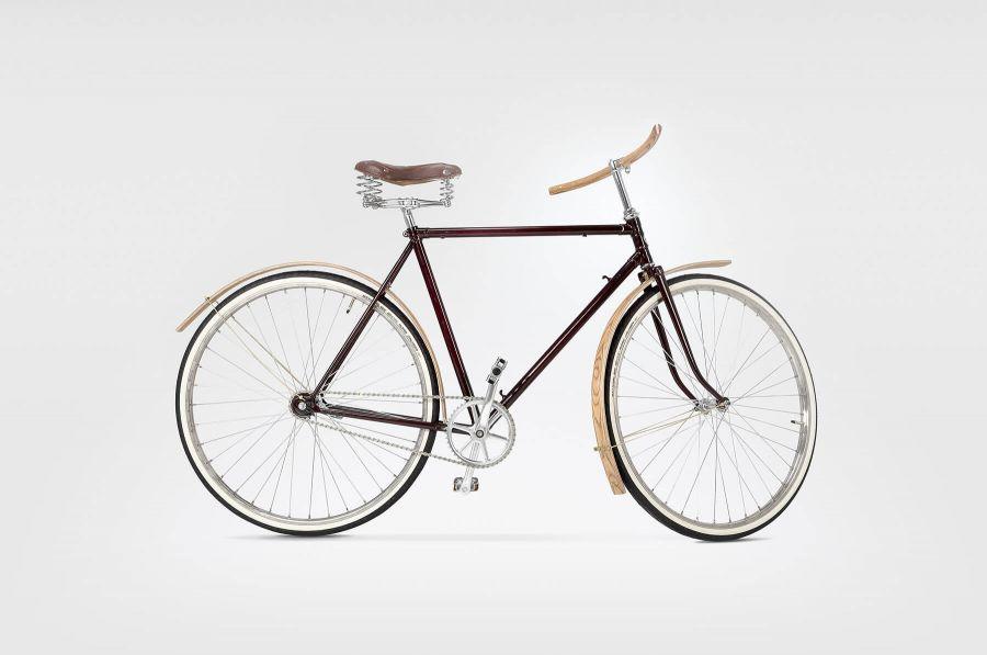 Goldie&Oldie Rower OLDIE 2000 zdrewnianymi akcesoriami