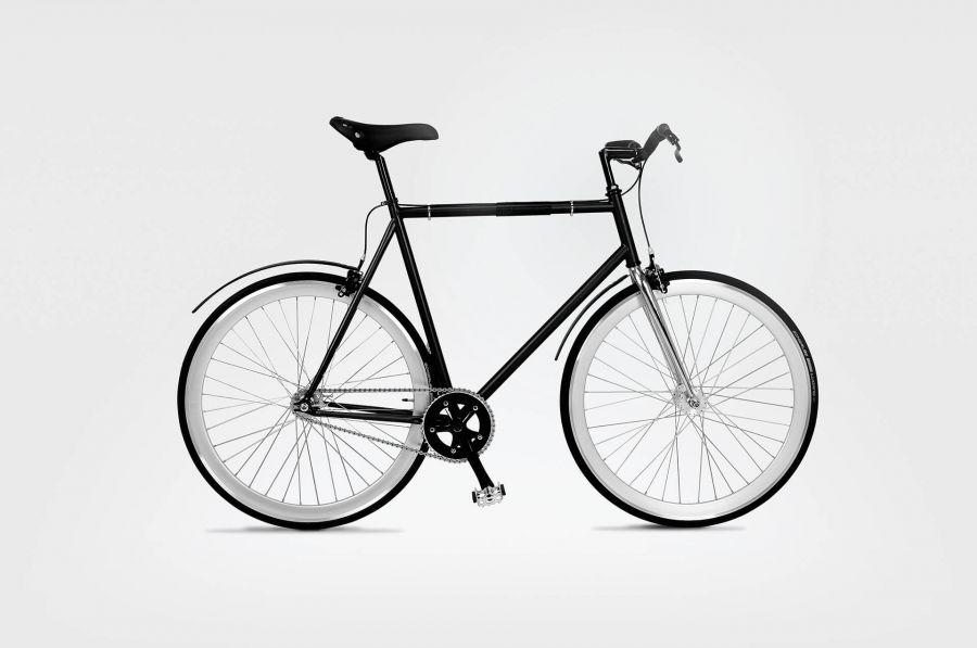 Stylowe ostre koło - rower męski