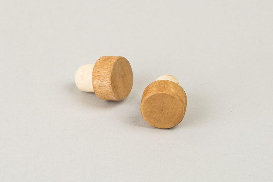 Korki drewniane do kierownicy - stylowe akccesoria rowerowe Goldie&Oldie
