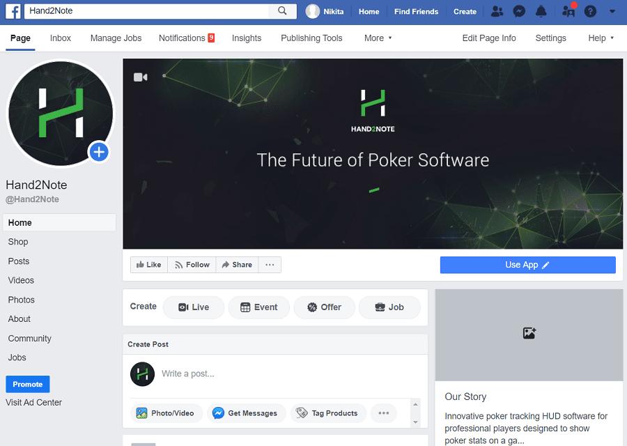 hand2note facebook