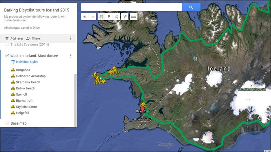 The Route - Must Dos in West Iceland
