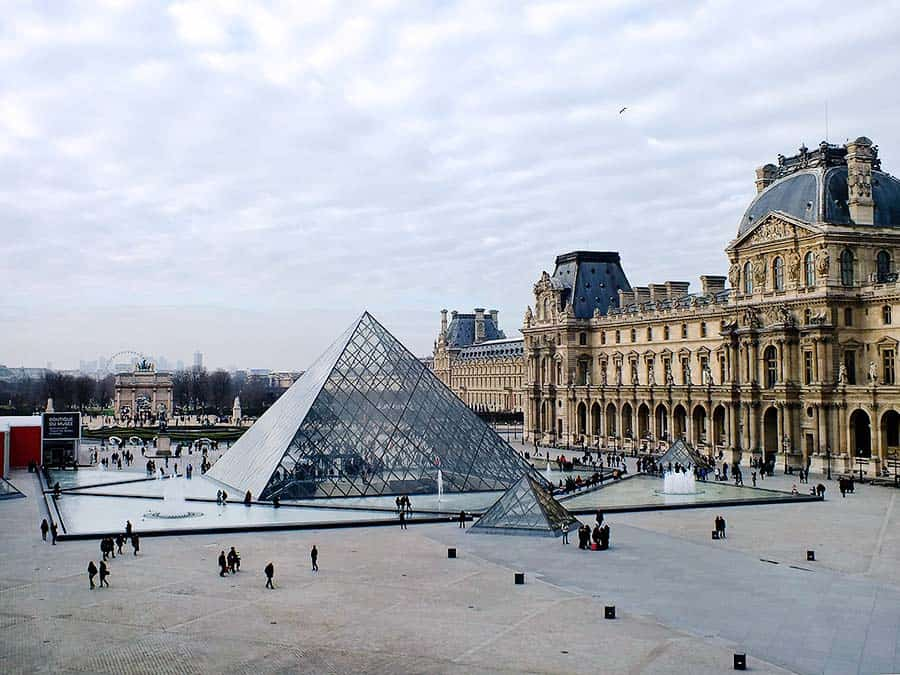 Louvre Museum is a must-see