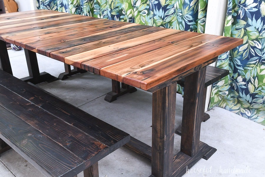 Marvelous Wood Picnic Table Plans Houseful Of Handmade Theyellowbook Wood Chair Design Ideas Theyellowbookinfo