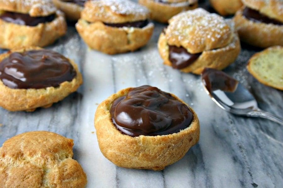 Step 4: Cream Puffs & Chocolate Custard | Life, Love, and Good Food