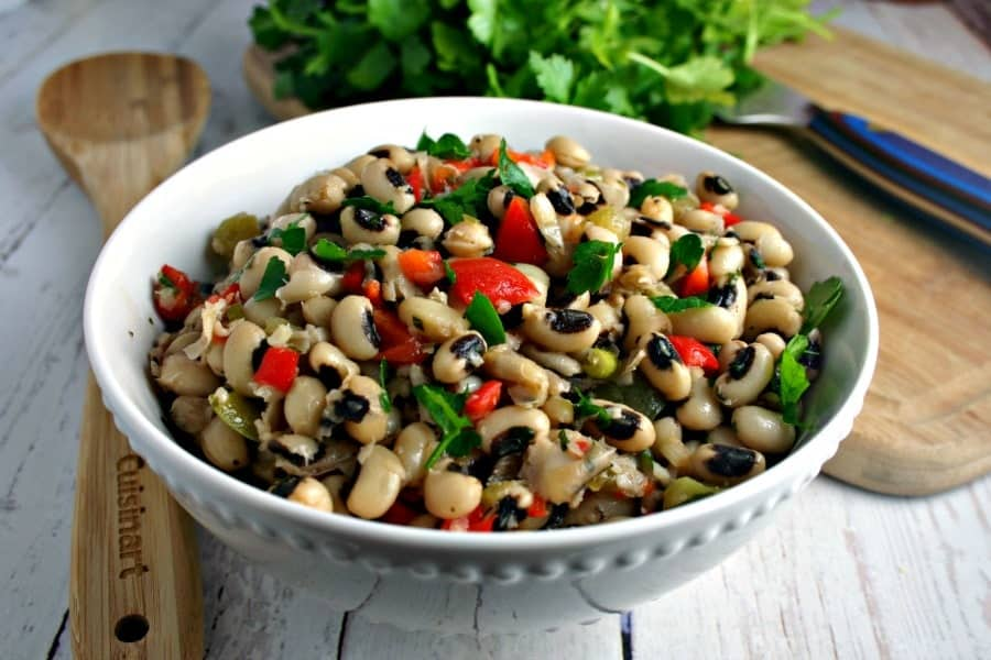 Hattie B's Black Eyed Pea Salad | Life, Love, and Good Food