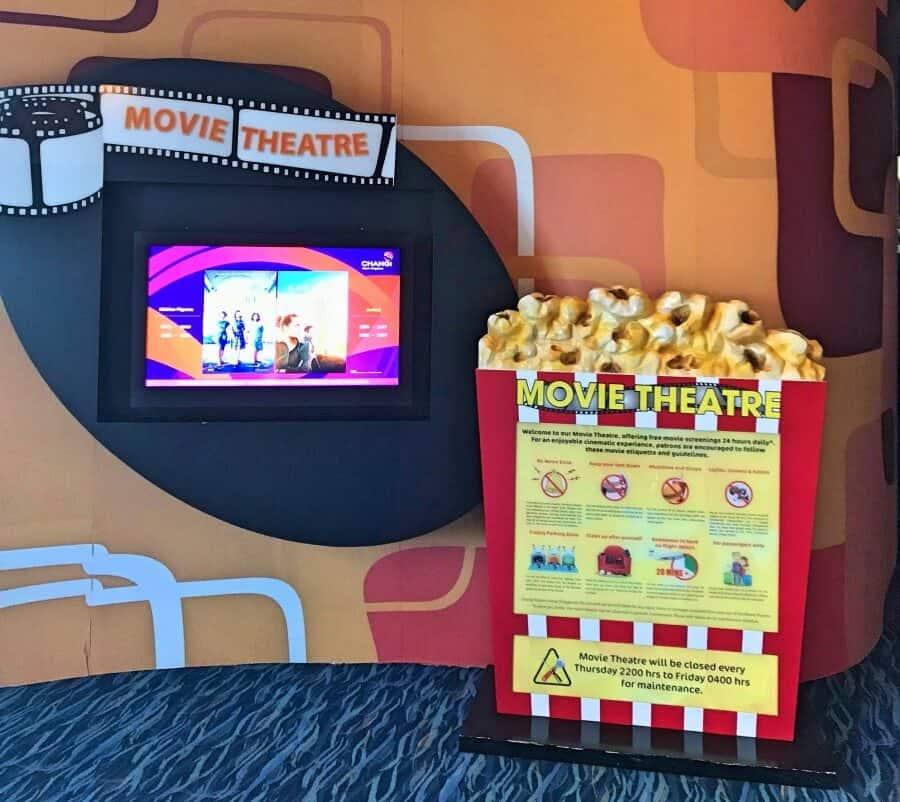 Movie Theater Singapore Airport