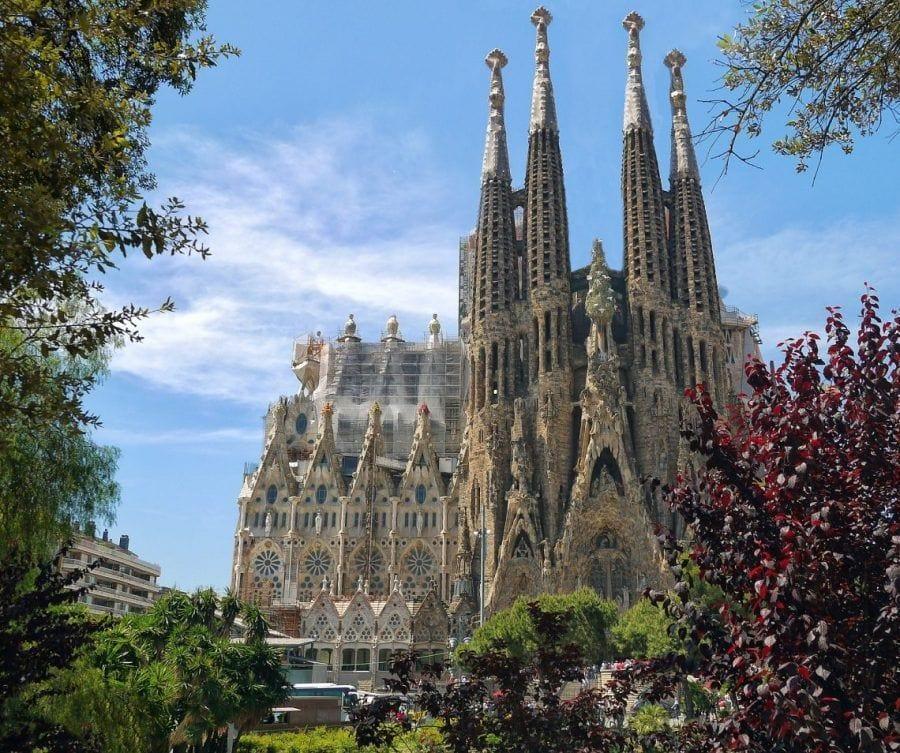 La Sagrada Familia de Gaudí en Barcelona