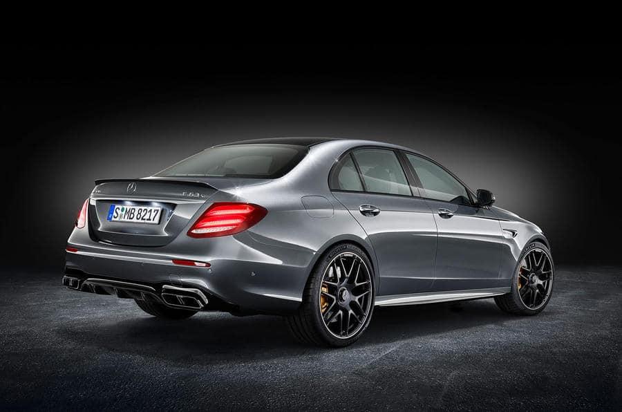 Mercedes-AMG E 63 S, Studioaufnahme // Mercedes-AMG E 63 S, studio shot