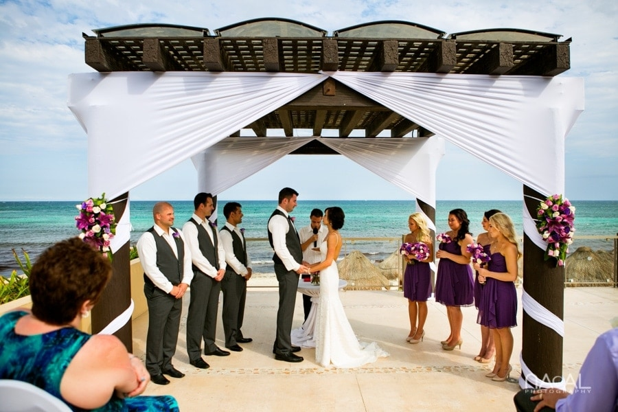 Now Jade Riviera Cancun -  - Naal wedding Photography 10