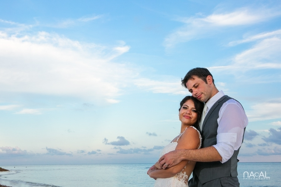 Monica & Neil -  - grand coral beach club wedding 19