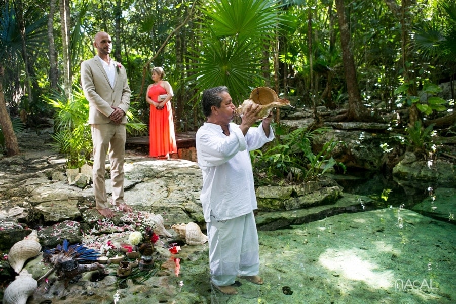 Intimate Cenote Mayan Wedding -  - Naal Wedding 141
