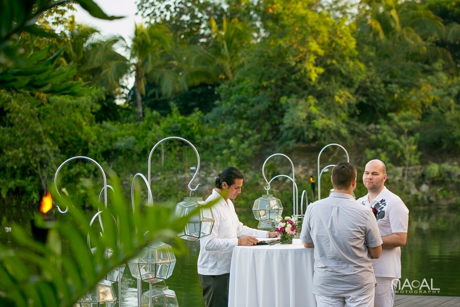 LGBT Elopement  Rosewood Mayakoba -  - Naal Wedding Photo 20 2