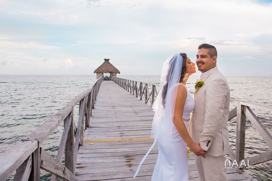 Intimate Mayan Palace Wedding. Naal Wedding Photography