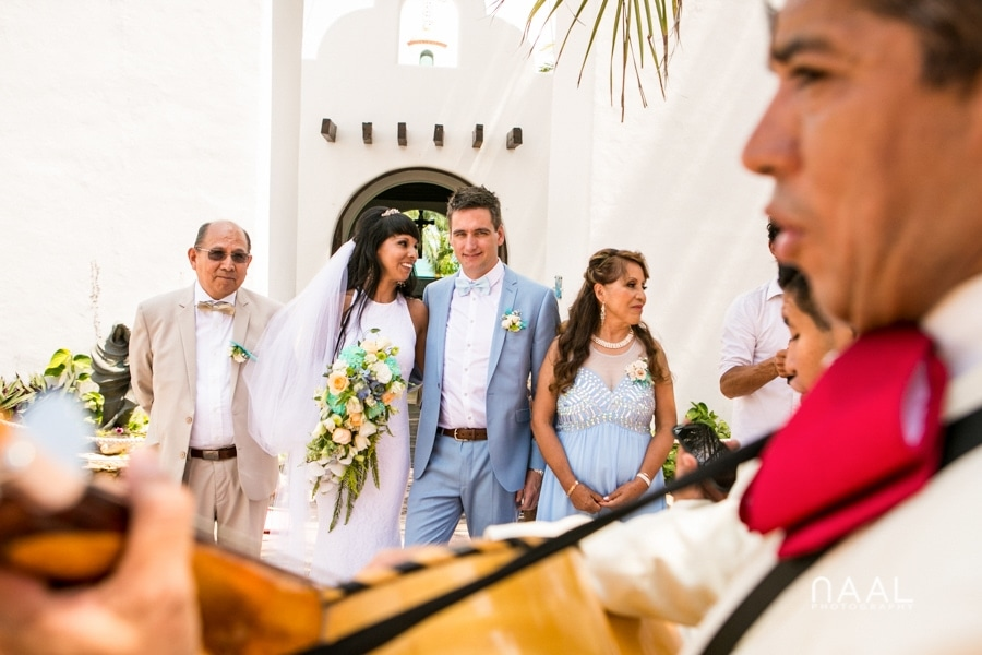mariachi Playa del Carmen Naal Wedding Photography