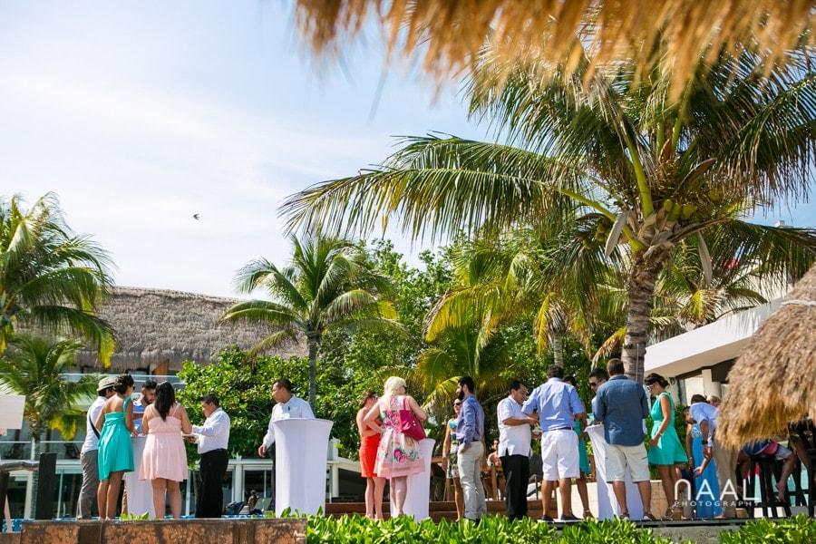 Maribel & Steve -  - Expected beach destination wedding at Le Reve 37