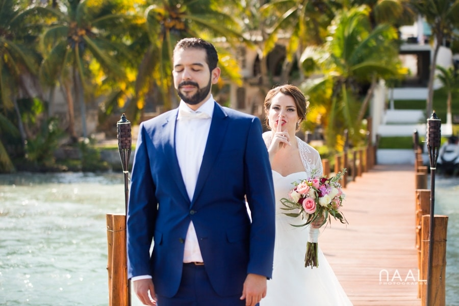 Bacalar destination wedding- Arlenis Ruiz - Naal Wedding Photography