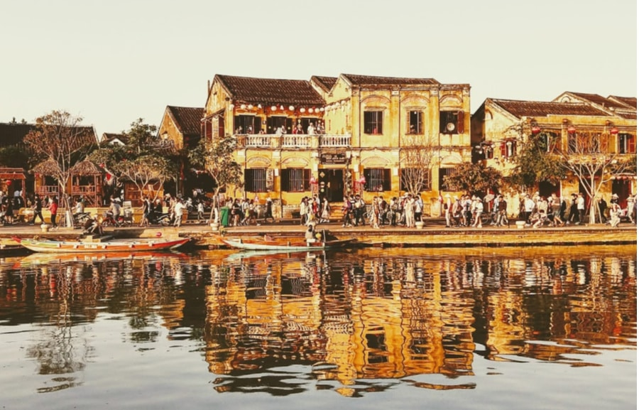 Hoi An Vietnam the Old Town