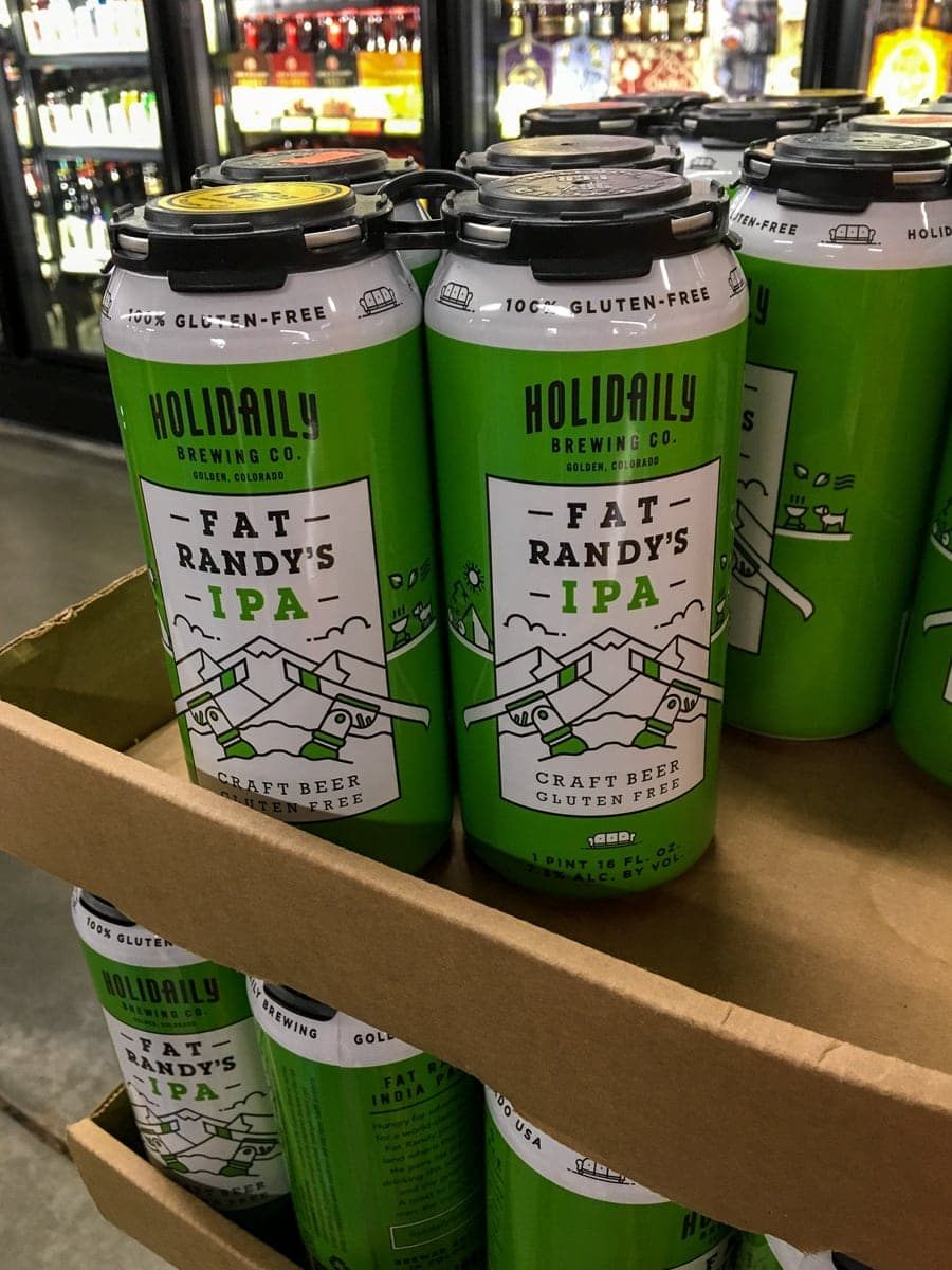 Fat Randy's IPA, a gluten-free IPA, is available in cans from Holidaily Brewing Co.