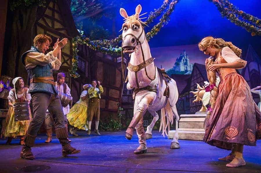Tangled Musical on Disney Magic Ship