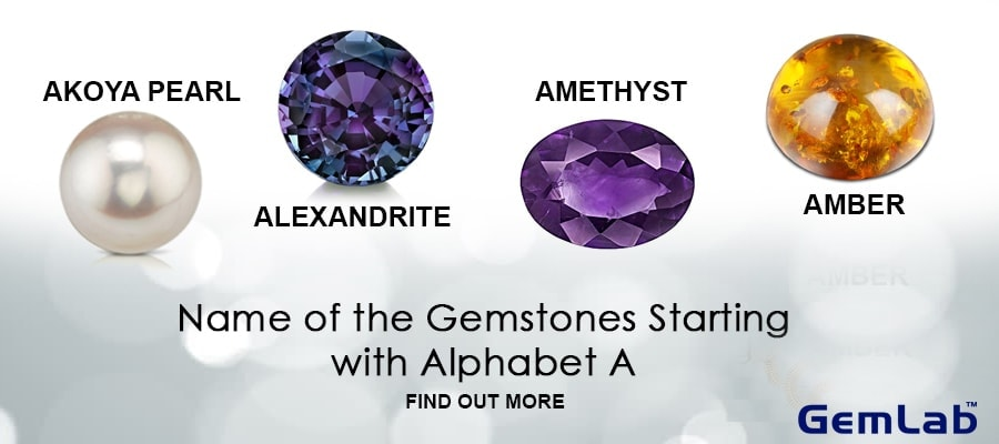 Gemstone's Name That Starts With Alphabet A